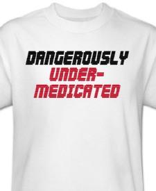 under-medicated